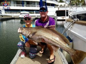 Brett and Rebecca 120cm Jewfish
